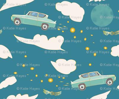 Mr. Weasley's Flying Car