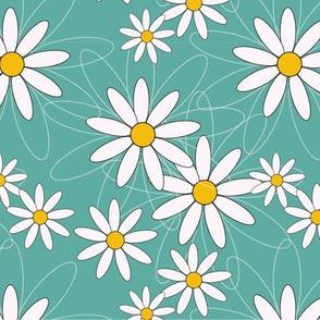 White summerflower