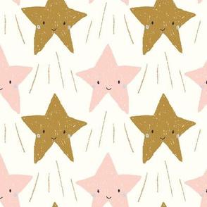 shooting stars pink
