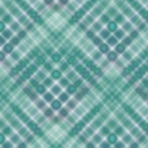 Karo in grün