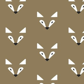 shadow fox in brown