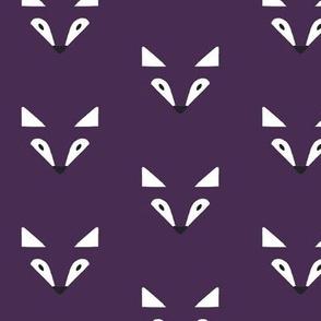 Shadow fox purple