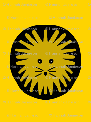 Lion pride yellow