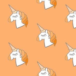 orange cream unicorn