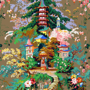 Chinoiserie Palace ~ Large