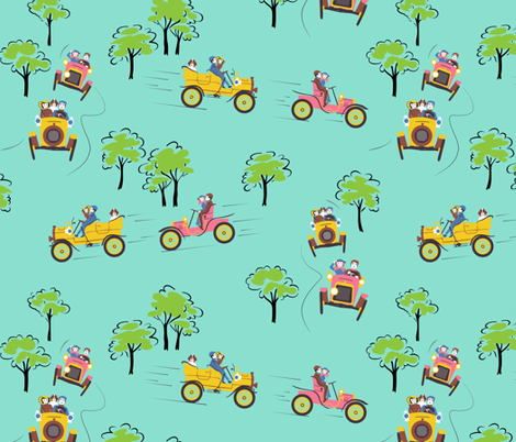 Genevieve fabric by tuppencehapenny on Spoonflower - custom fabric