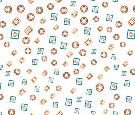 Geometric shapes 01 fabric by tashakon on Spoonflower - custom fabric