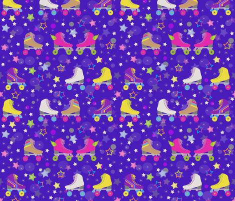 Skates! fabric by inkysunshine on Spoonflower - custom fabric