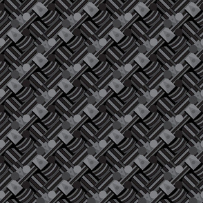 Geometric shapes bauhaus style