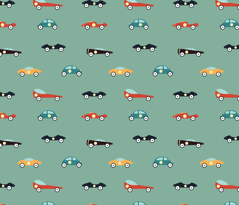 Racers fabric by svaeth on Spoonflower - custom fabric