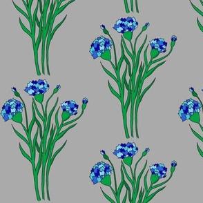 Blue Summer Cornflowers