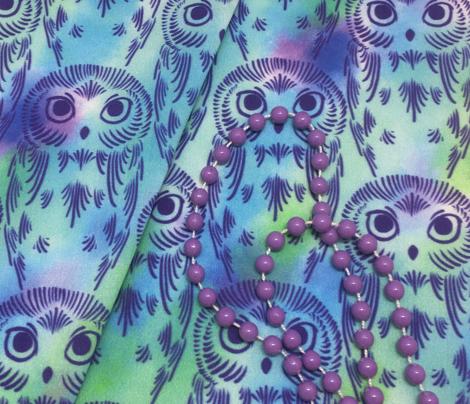 Watercolor Owls - Rainy Day