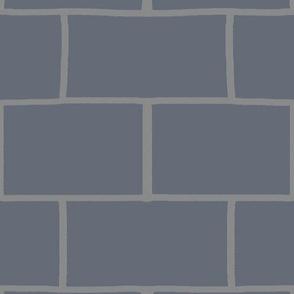 slate subway tiles