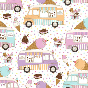 Ice Cream Trucks  Large scale