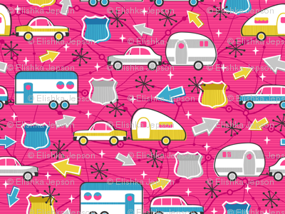 Let's Hit the Road! (Pink)
