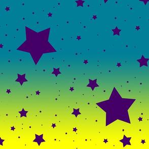 It's Full of Stars: Yellow, Blue & Purple