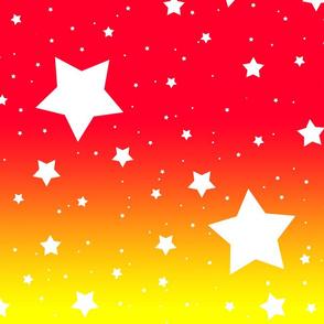 It's Full of Stars: Red, Yellow & White