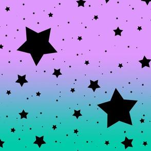 It's Full of Stars: Lavender & Teal
