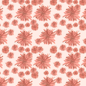 Salmon Pink Flowers 2