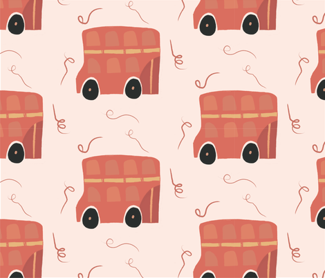 double deck fabric by michelle_vassallo_vansell on Spoonflower - custom fabric