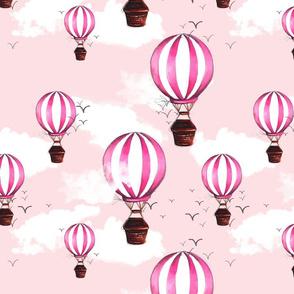 Pink Air Ballons