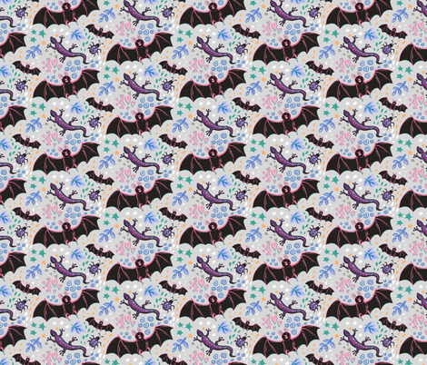 Fun Critters fabric by jules_madden on Spoonflower - custom fabric