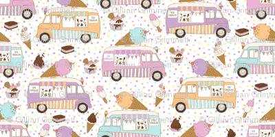 Ice Cream Trucks Small Scale