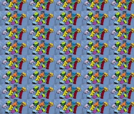 four wheels fabric by art_by_rita on Spoonflower - custom fabric