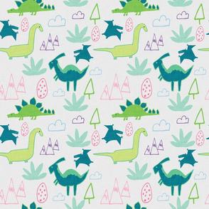 Dino Land Beige