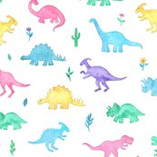 Rlittle-pastel-multicolor-dinos-with-plants-on-white_shop_thumb