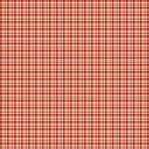 tiny red plaid