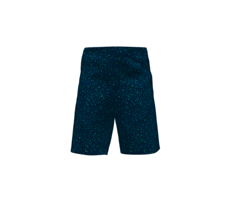 Grunge pattern - blue noise on navy blue background