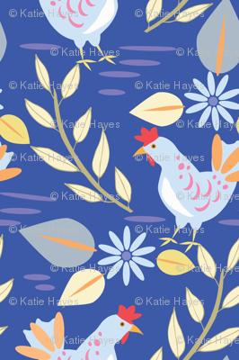 Layla's Chickens, Cobalt