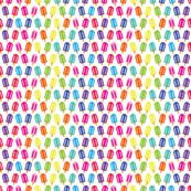 aloha rainbow popsicle halfdrop washi