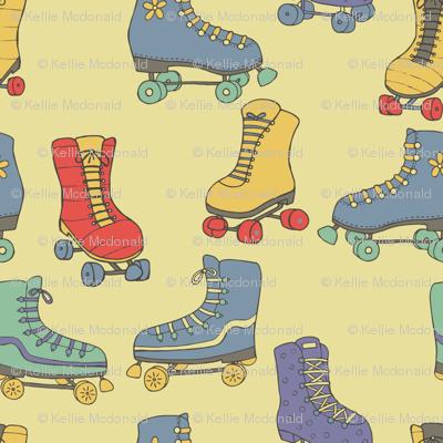 Retro Rollerskates