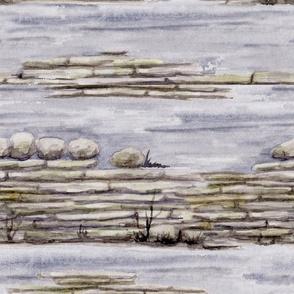 Bronte - Dry Stone Wall
