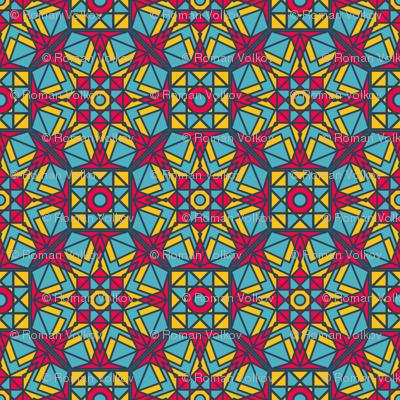 Indian Geometric Gems Ornament