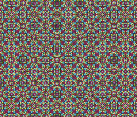 Indian Geometric Gems Ornament fabric by dacascas on Spoonflower - custom fabric