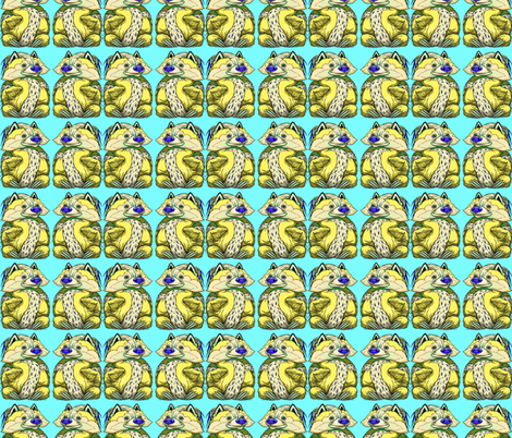 Toby Cheerful Cha Cha fabric by amy_kollar_anderson on Spoonflower - custom fabric