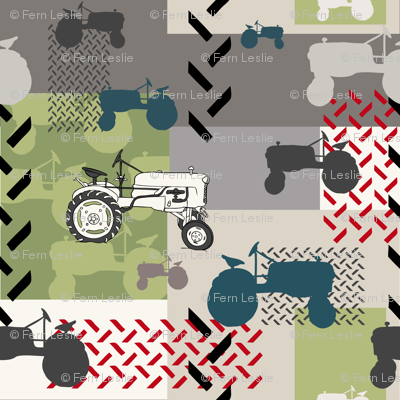 Tractor Montage - Large