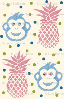Monkey ananas 2