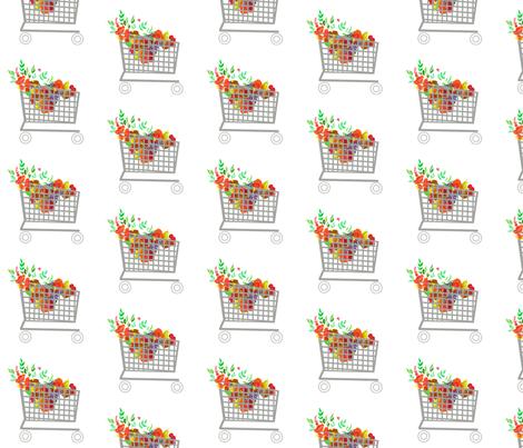 Shopping Day fabric by della_vita on Spoonflower - custom fabric