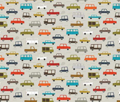 5 o'clock traffic fabric by katerhees on Spoonflower - custom fabric