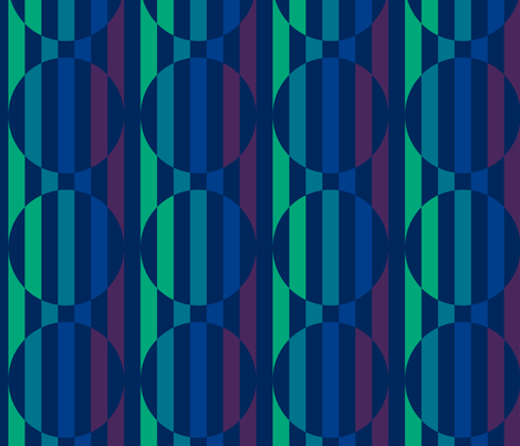Geometric Cool fabric by nefthys on Spoonflower - custom fabric