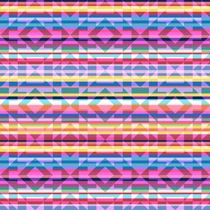 Bauhaus  Kilim Diamond Stripes