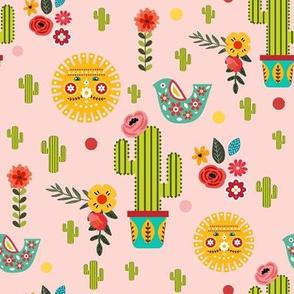 "8"" Fiesta - Pink"