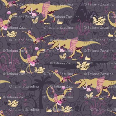 Рrincess dinosaurs