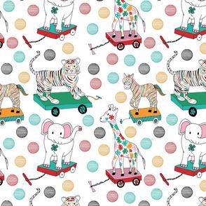 Animal pull toys, Medium