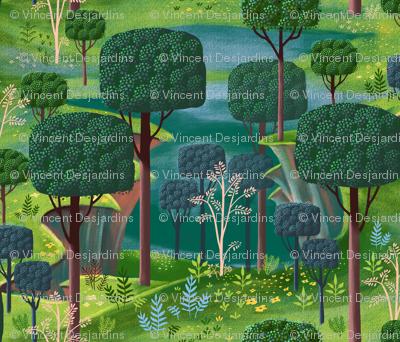 Emerald Forest Fantasy