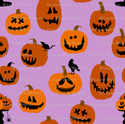 Pumpkins Purple